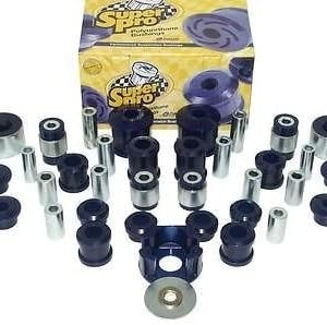 SuperPro Front and Rear Suspension Kit with Anti Lift (Track Use)- Skoda Octavia VRS