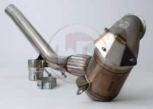 Wagner Tuning Downpipe with Cat - Skoda Octavia VRS