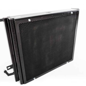 CSF Charge cooler Water Radiator (Black) - BMW M140i