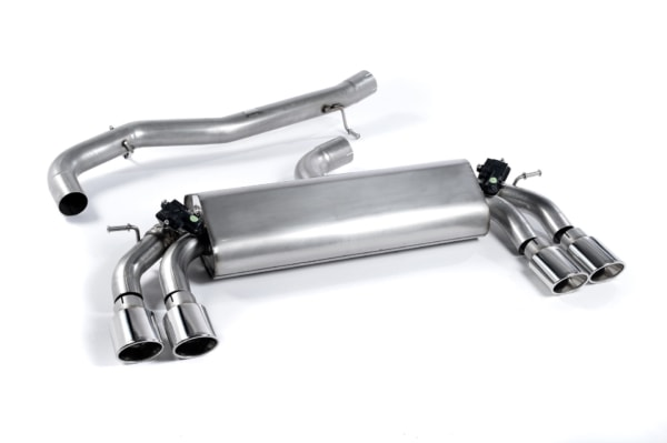 Milltek Cat Back Exhaust (Valved) – Audi S3 Saloon (Non GPF)