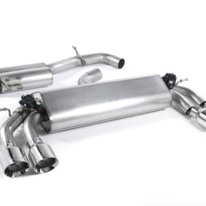 Milltek Cat Back Exhaust (Valved) – Volkswagen Golf R (Pre Facelift)
