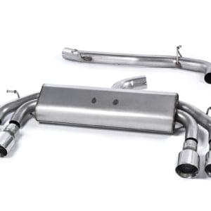 Milltek GPF Back Exhaust (Valved) – Audi S3 (Saloon)
