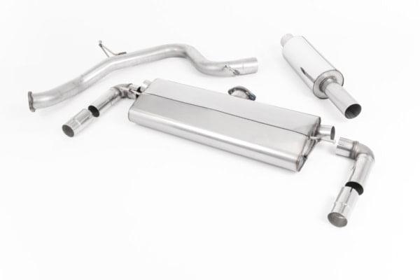 Milltek Cat Back Exhaust (Non GPF) – Volkswagen Golf GTI Performance Pack (Facelift)